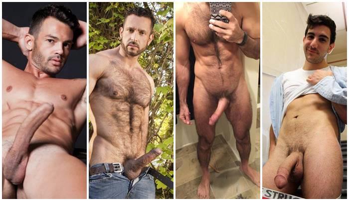 Punheta Fotos -Homens batendo uma em fotos de punhetas