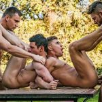 Surubão gostoso entre machos perfeitos e roludos