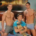 Vídeo de Trenzinho gay entre amigos fazendo sexo