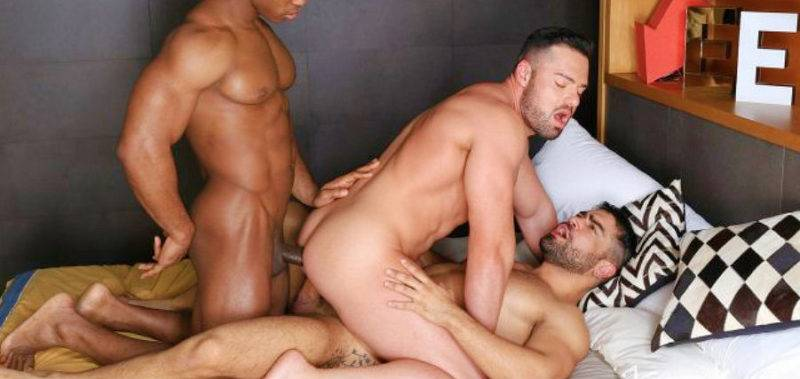 Vídeo de sexo entre machos roludos se comendo gostoso